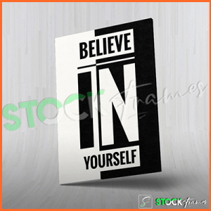 Canvas Prints Single Panels (Believe) – 18×24 etc.
