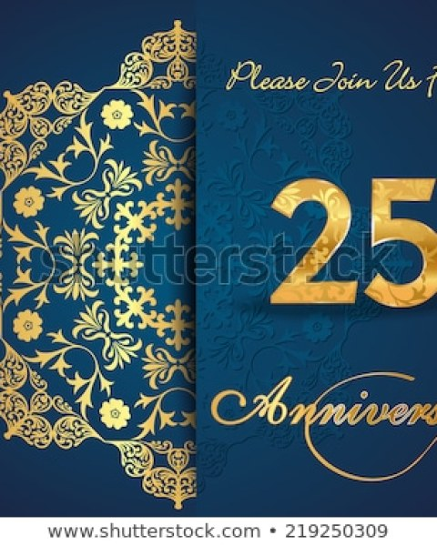 25th Wedding Anniversary Invitations Online