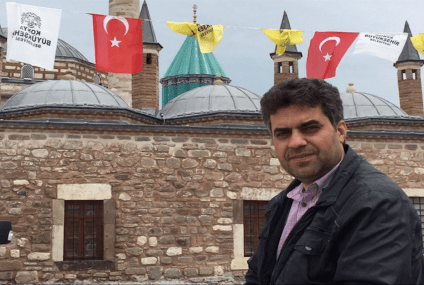 A Turkish journalist jailed because he got treated in a hospital affiliated with the Gülen
