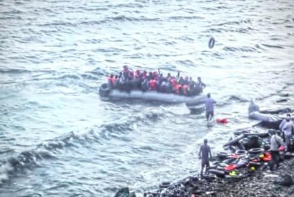 Seventeen Turkish citizens, who escaped from persecution of Erdoğan regime, seek sanctuary in Greece