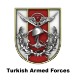 Turkish Armed Forces TSK emblem