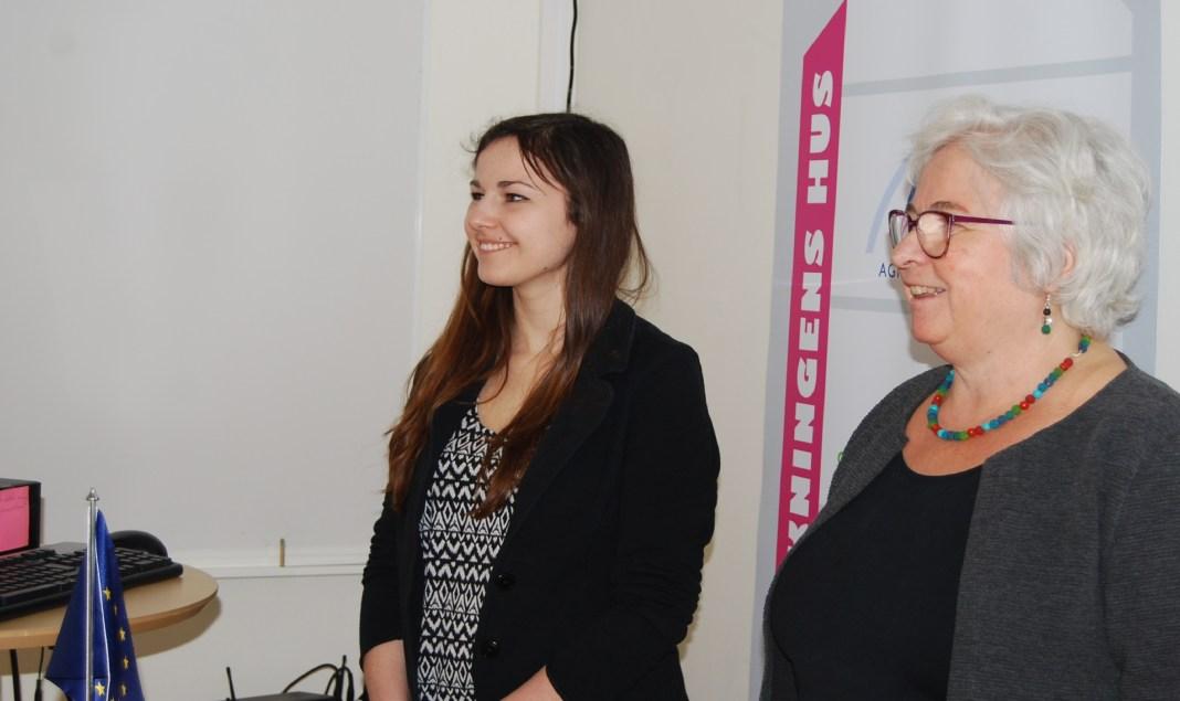 Ewa de Bruijn och Kerstin Sjösvärd