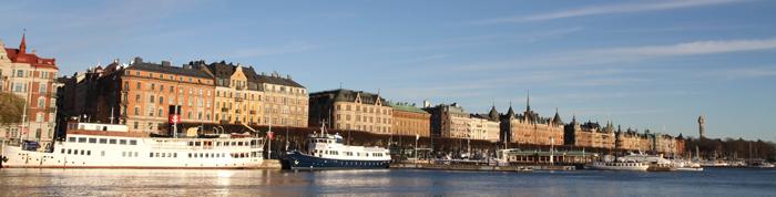 кораблики и мосты Стокгольма