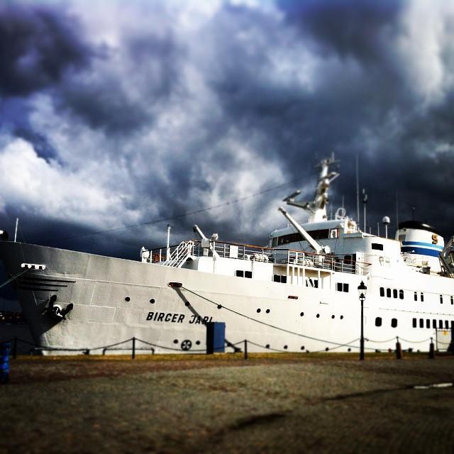 корабль Биргер Ярл в Стокгольме