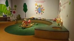 Игровая комната в техническом музее Стокгольма
