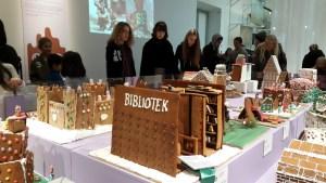 бесплатная выставка пряничных домиков в стокгольме на рождество 2016