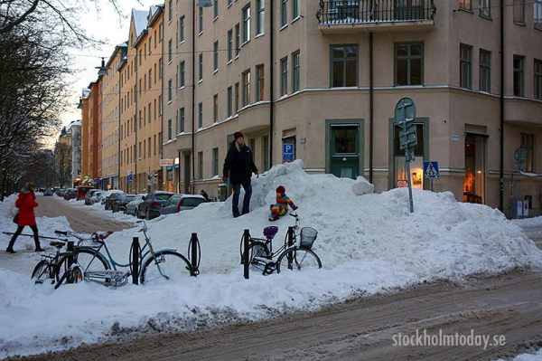 More snow in Stockholm - Stockholm Today : Stockholm Today