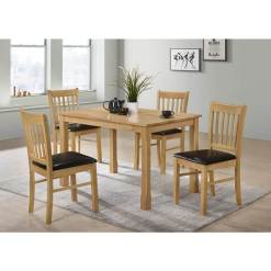 Bolton Oak Dining Set