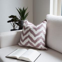 Chevron Taupe Cushion