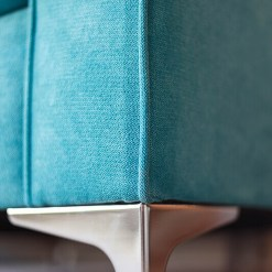 Teal Accent Armchair