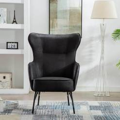 Mason Vintage Black Armchair