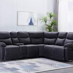 Brody Dark Grey Corner Sofa