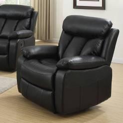 Janus Black 1 Seater Sofa