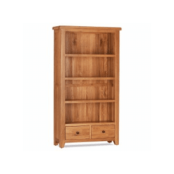 Oscar Bookcase with 2 Drawers