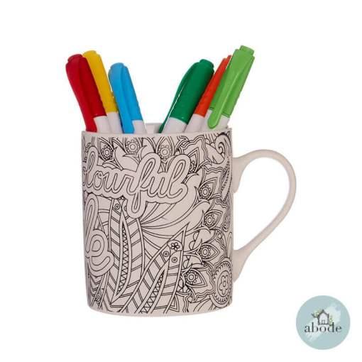 A Colourful Life Mug