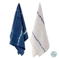 Blue Cotton Kitchen Towel