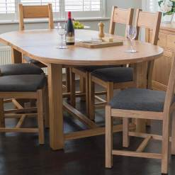 Breeze Oval Dining Table