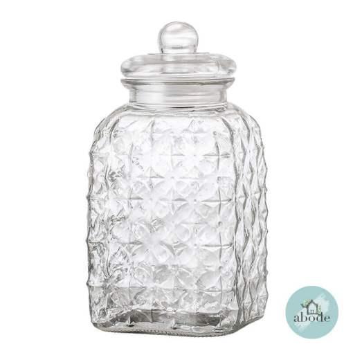 Large Glass Cookie Jar