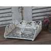 Napkin Holder with Lace Edge