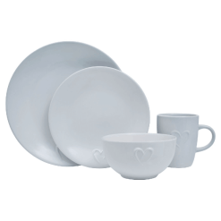 Heart 16 Piece Dinner Set