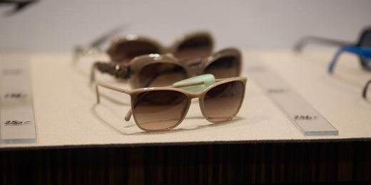 sunglasses displayed for sale free stock image