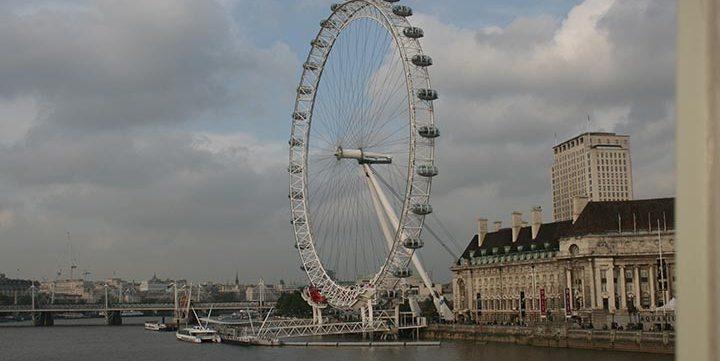 free stock image of London Eye