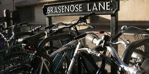free stock image of brasenose lane oxford