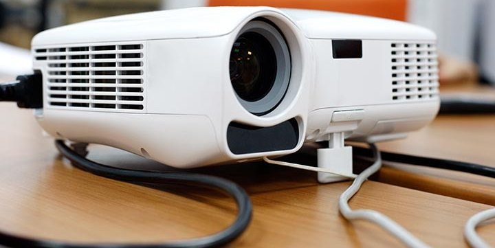 free stock image of video projector