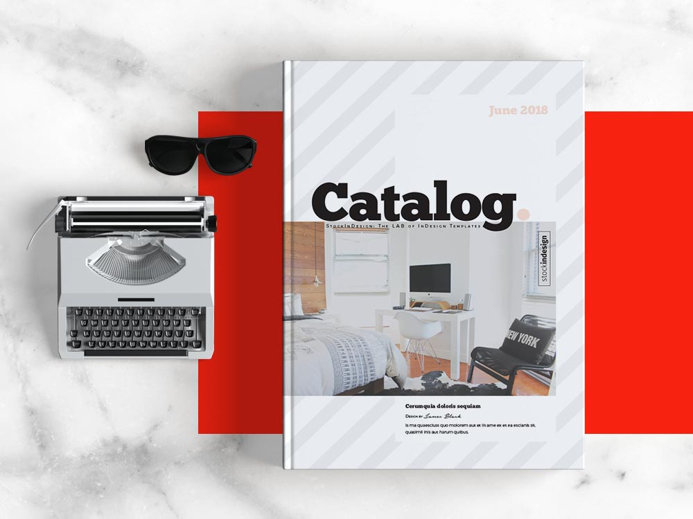 This product catalog template is all about uncomplicated design, clever layout, basic color palette, and adaptable. Product Catalog Template Adobe Indesign Templates