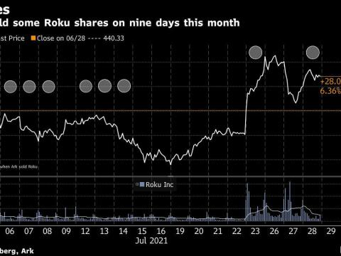 Ark Quietly Cuts Exposure to One of Cathie Wood's Hottest Stocks