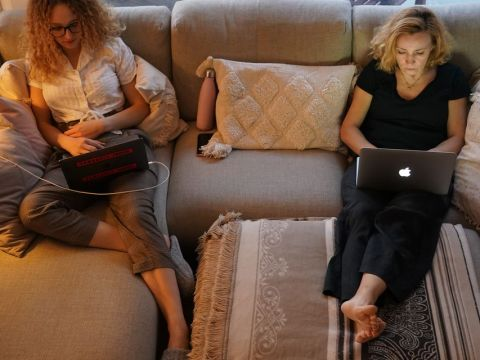 Why people making over $100,000 will be more likely to keep working from home