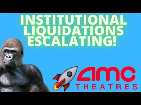 AMC STOCK: INSTITUTIONAL LIQUIDATIONS HAVE STARTED! – GAMMA SQUEEZE POTENTIAL- (Amc Inventory Analysis)