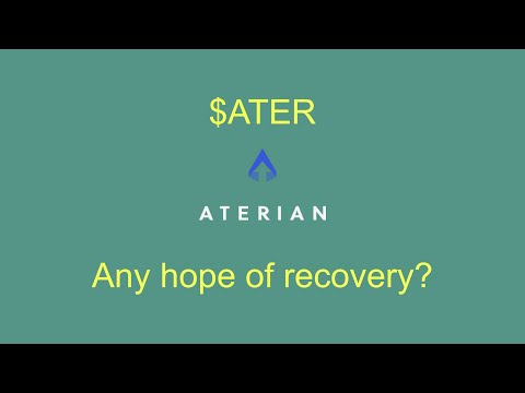 Where does Aterian inventory glide from here? An $ATER chart and info diagnosis