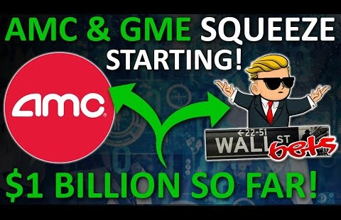 GAMESTOP & AMC SHORT SQUEEZE IS STARTING!? (AMC AND GME STOCK SHORT SQUEEZE, PREDICTIONS)