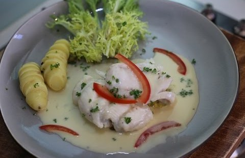Lemon Sole with Butter veloute ( how that you just might manufacture butter sauce)