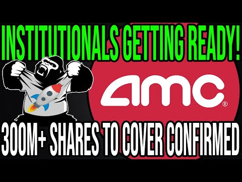 AMC STOCK 🔥 THIS SHOWS THAT INSTITUTIONALS ARE GETTING READY FOR AMC SHORT SQUEEZE!