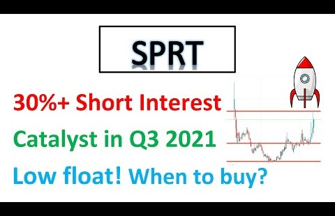 #SPRT 🔥 30%+ immediate interest-low float stock! Catalyst in Q3 2021! Whenever you pick now?🔥Rate Evaluation