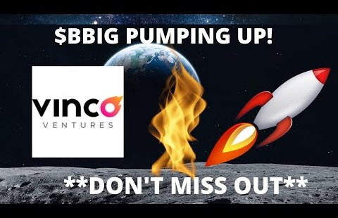 BBIG NFT STOCK EXPLODED TODAY!!│VINCO VENTURES TRUTH & PREDICTIONS **HUGE UPDATE**