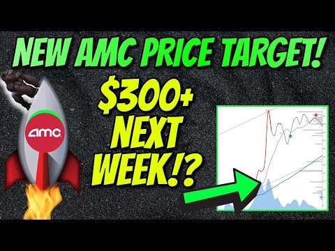 AMC STOCK NEW PRICE TARGET!! $300 INCOMING!? MUST SEE!