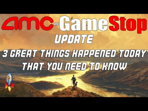 AMC Inventory and GME Inventory Update. There Are 3 Things You Need To Know ASAP. No More Dilutions For AMC?