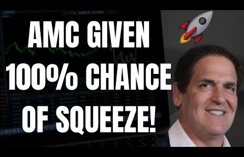 🔥 AMC GIVEN 100% CHANCE OF SQUEEZE! 🚀