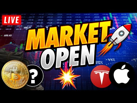 🔴Stock Market Live Tuesday: Is The Short Squeeze Abet?  [QQQ, SP500, AMC, GME, Bitcoin]
