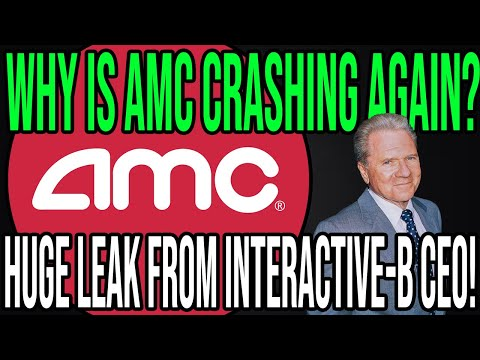 AMC STOCK 🔥 WHY AMC IS GOING DOWN AGAIN + IB CEO CONFIRMED THE NEXT SQUEEZE! (Short Squeeze Update)