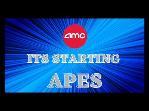 AMC STOCK | APES ITS STARTING SOONER THAN WE THINK