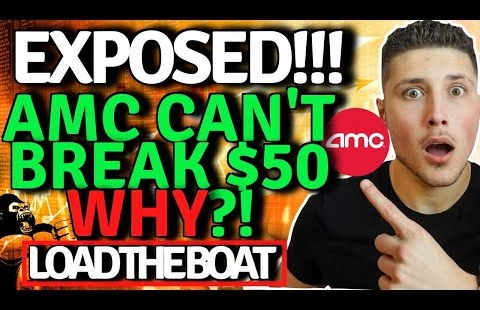 AMC STOCK EXPOSED!💥 WHY WE CAN'T BREAK $50! SQUEEZE INEVITABLE!🚀 BLATANT MANIPULATION!
