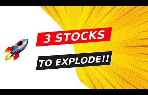 🚀 3 STOCKS THAT CAN EXPLODE!! WATCH FAST!!