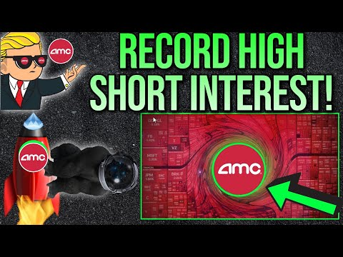 🚀 AMC STOCK | RECORD HIGH SHORT INTEREST! SQUEEZE INCOMING!