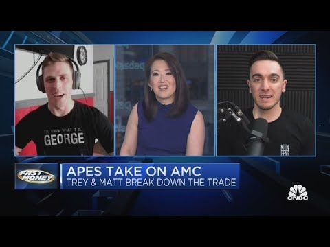 Apes snatch on AMC — Inner the commerce with Trey and Matt