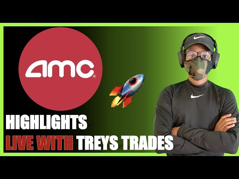 AMC STOCK| LIVE WITH TREYS TRADES – WEEKLY HIGHLIGHTS