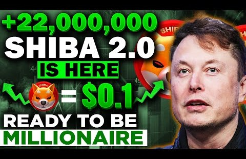 Shiba 2.0 Is here! shiba to $0.1! Secure Ready To be a millionaire!  shiba inu coin news on the present time!